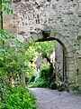 Stadtmauer Herrenberg, Entstanden mit der Stadtgründung um 1200. Mauerarme vom Schloß bis Hagtor und Probstei zählten zum Burgbereich und verbanden Schloß und Stadt zu einer gemeinsamen Großfestung. Gesamtlänge ur - panoramio.jpg