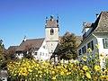 Stadtpfarrkirche St. Gallus - Bregenz (Turm) von SüdOsten.JPG