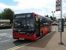 Ruta autobuzului Londra 499