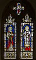Stained glass window, St Mary's church. Battle (15890765876).jpg