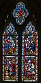Stained glass window, St Peter's church, Firle, Sussex (16355889464).jpg