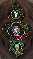 Stained glass window, St Peter's church, Firle, Sussex (16977346741).jpg