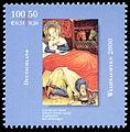 Stamp Germany 2000 MiNr2151 Weihnachten I.jpg