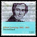 Stamp Germany 2001 MiNr2163 Albert Lortzing.jpg