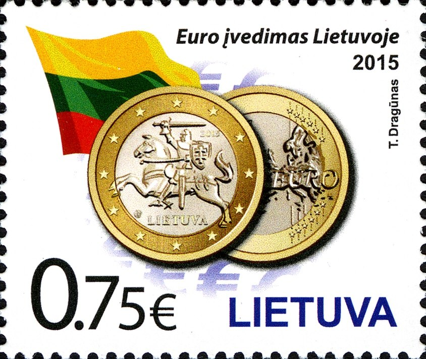 Stamps of Lithuania, 2015-01