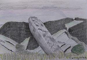 Cwmsymlog - Pant y Garreg Hir, by Anneke Ritman