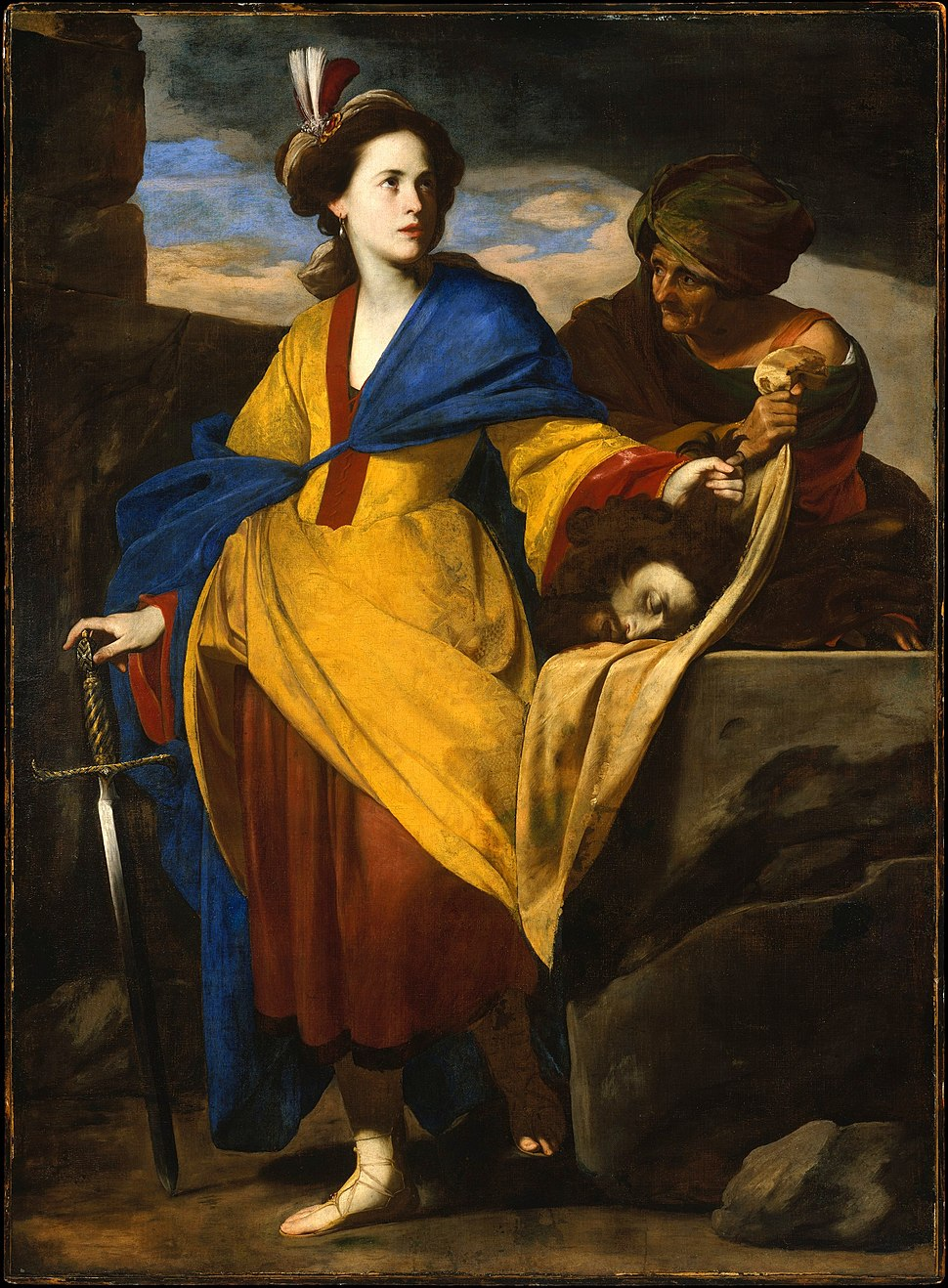 Stanzione, Massimo - Judith with the Head of Holofernes - c. 1630–35
