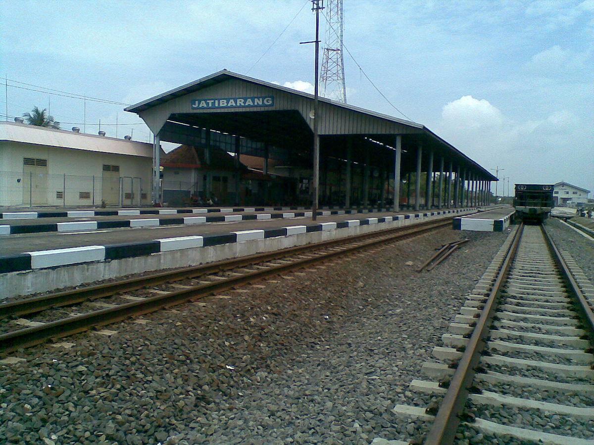 Jatibarang railway station