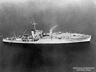 HMAS Albatross (1928) - Albatross in 1938