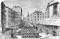 State funeral the Duke of Wellington, London 1852 - The Strand.jpg