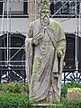 Statue of King Alfred the Great, Trinity Church Square, Southwark in March 2011 02.jpg