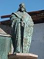Statue of Sigismund by Péter Gáspár (2003) in the Europe Place, Komárno.jpg