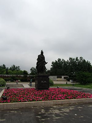 Zhu Ran - Statue of Zhu Ran in Ma'anshan
