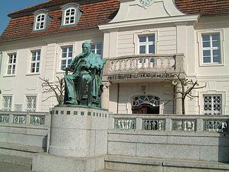Fritz Reuter - The Fritz-Reuter-Literaturmuseum in Stavenhagen.