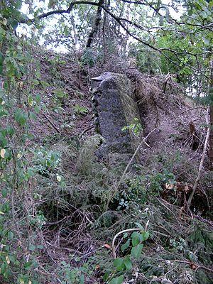 Guckheim - Remains of the Römmel basalt quarry; quarrying ended in 1928