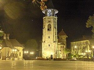 Piatra Neamț - Stephen's Tower built in 1499