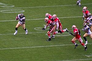 Steven Jackson - Jackson rushing against the 49ers in 2007.