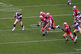 Steven Jackson - Jackson rushing against the 49ers in 2007.