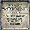 Stolperstein.Alt-Hohenschönhausen.Große-Leege-Straße 48.Manfred Bottstein.6206.jpg
