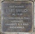 Stolperstein Bamberger Str 22 (Wilmd) Louis Baruch.jpg