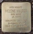 Stolperstein Gotha-Allee 17 (Westend) Helene Valfer.jpg