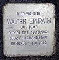Stolperstein Helmstedter Str 28 (Wilmd) Walter Ephraim.jpg