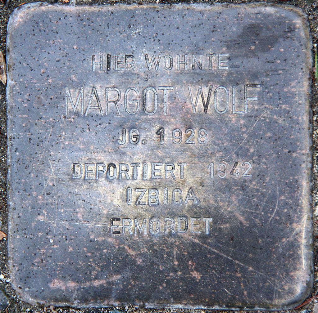 Stolperstein Margot Wolf - Altenkunstadt.jpg