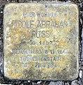 Stolperstein Schleswiger Ufer 1 (Hansa) Adolf Abraham Russ.jpg