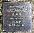 Stolperstein Wallotstr 10 (Grune) Georg Braun.jpg