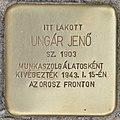 Stolperstein für Jenö Ungar - Ungar Jenö (Budapest).jpg