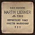 Stolperstein für Martin Liegner (Cottbus).jpg