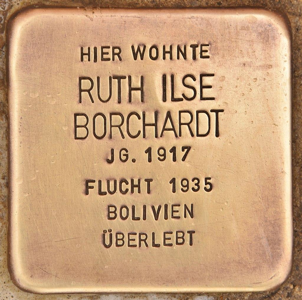 Stolperstein für Ruth Ilse Borchardt (Kremmen).jpg