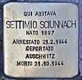 Stolperstein für Settimo Sciunnach (Rom).jpg