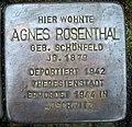 Stolpersteine Dortmund Sölder Kirchweg 27 Agnes Rosenthal.jpg