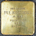 Stolpersteine Familie Moses Paul-Josef-Moses Elisenstraße 3 Köln.jpg