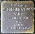 Stolpersteine Köln, Wilhelmine Schwarz (Nußbaumerstraße 7).jpg