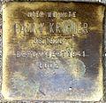 Stumbling block for Fanny Kramer (Alteburger Straße 11)