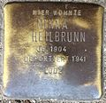 Stumbling block for Minna Heilbrunn (Alteburger Straße 11)