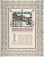 "Story Title Page, ""Snegurochka"" -Snow Maiden-; verso, text MET DP804760.jpg"