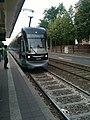 Straßenbahn der Linie 11, Haltepunkt Karl-Liebknecht-Kurt-Eisner-Straße, Leipzig - panoramio (11).jpg
