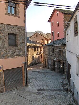 Villablino - Street in Villablino