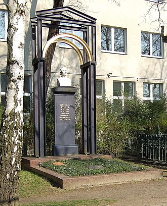 Friedrich August Stüler - The grave in Berlin