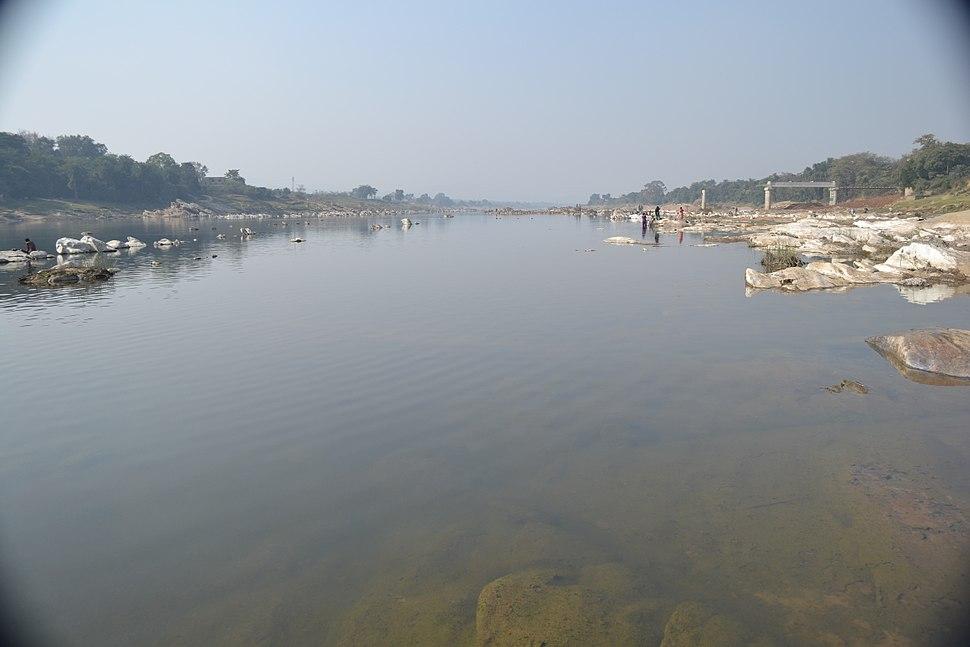 Subarnarekha river in Ghatshila, Jharkhand