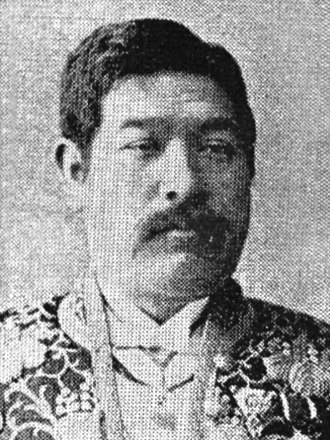 Suematsu Kenchō - Viscount Suematsu Kenchō, ca.1898
