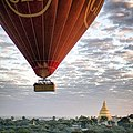 Sunrise over Bagan (15809174515).jpg