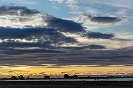 Sunset in Sumner Beach, Sumner, Christchurch, New Zealand.jpg