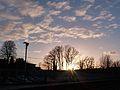 Sunset over Maidstone (16116087988).jpg