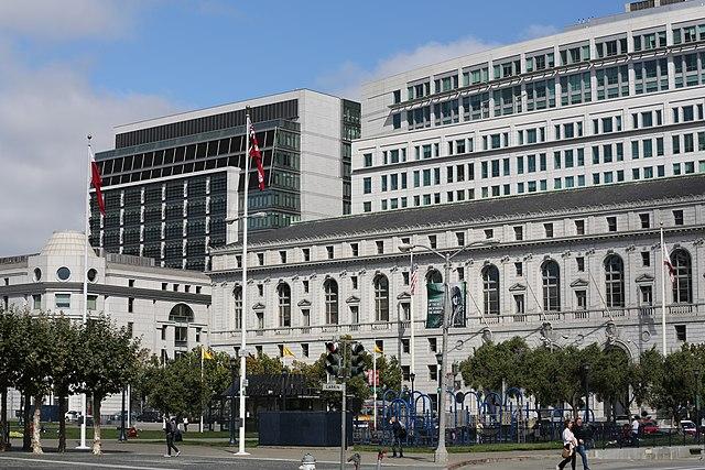 Supreme Court of California - California State Building, San Francisco