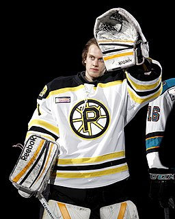 Niklas Svedberg Swedish ice hockey goaltender