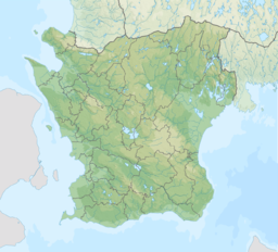 Sweden Scania relief location map.png